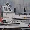 "Watercolor: ""Coast Guard Cutter"" by Edwin Fulwider"
