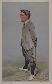 "Print: ""Hoylake"" by Sir Leslie Matthew Ward (aka Spy)"