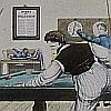 "Print: ""Billiards"" by William Henry Pyne"